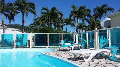 Photo for F2 spacious and pleasant with pool in Trois-r