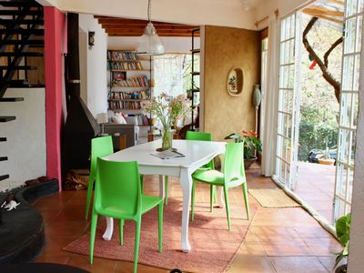 Photo for TRANQUIL COZY VILLA & EXQUISIT GARDEN AT THE MOUNTAINS OF TEPOZTLAN