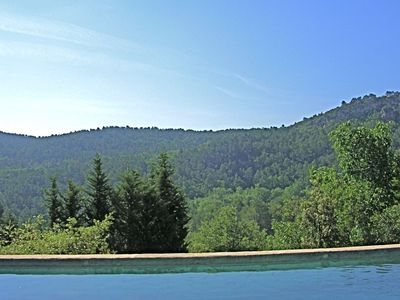 Photo for NEW - 18thCentury: Stunning Location, private pool, river, cascades, views