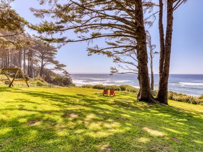 Photo for Oceanfront duplex unit w/views & beach access - ideal for exploring