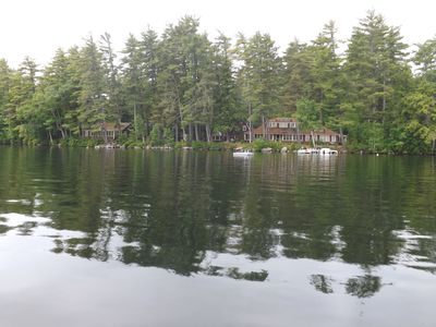 Photo for Lakefront Compound on Beautiful Great Pond