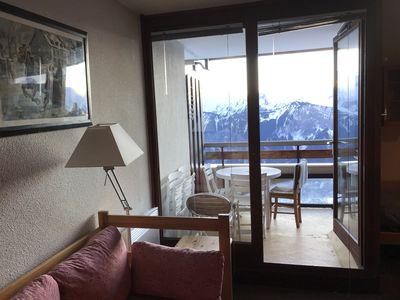 Photo for ALPE HUEZ - Superb apartment 32 m2 - 7 pers - Direct access tracks & shops
