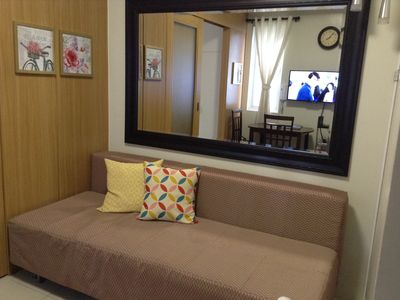 Photo for Central 1 BR @ Shell Residences Near Sea, MOA