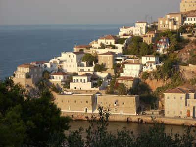 Photo for Gorgeous Historic Mansion with Breathtaking Views on Hydra Island