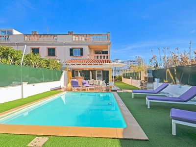 Photo for Chalet for 8 persons - close to the beach, private pool, terrace, internet