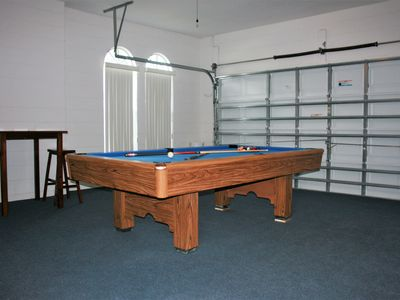 Spacious BR BA Private Pool Home Close VRBO - Brand new pool table