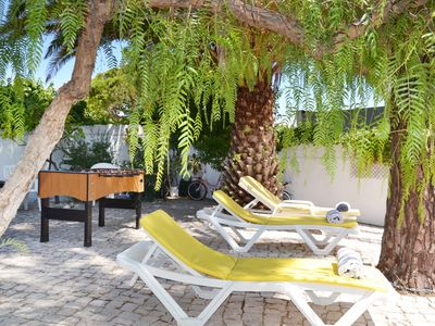Photo for Beach house within a walking distance from the beach and close Albufeira centre.