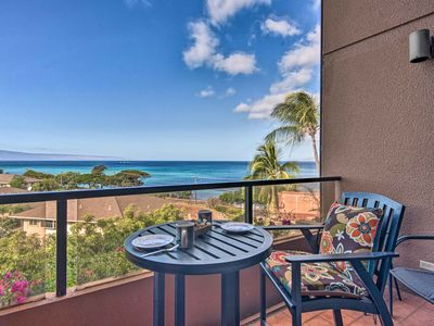 Photo for NEW-Lahaina Condo w/Patio, Pool Access &Ocean View