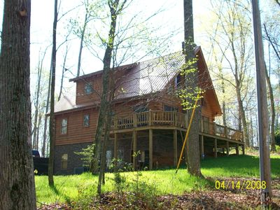 Photo for 'NEWER' DALE HOLLOW LAKE 5 BR LOG HOME - 1/2 Mile to Eagle Cove Marina Boat Ramp