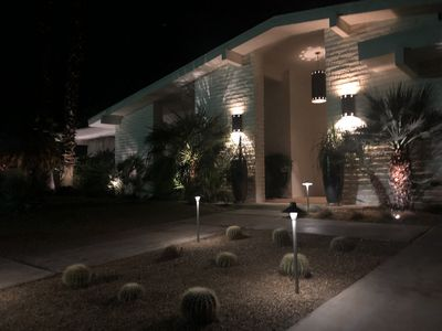Photo for Outrageous  View of the Mountains, that are lighted at night!,  Indian Wells C.C