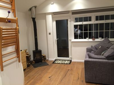 Photo for Stunning, newly refurbished countryside Studio With Woodburning stove