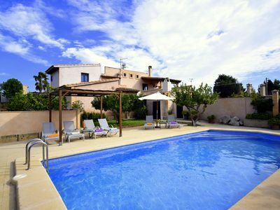 Photo for Cozy Finca Pula Viñas near golf resort with private pool