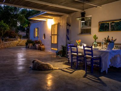 Photo for Private secluded cottage in it's own olive grove, walking distance to the sea.