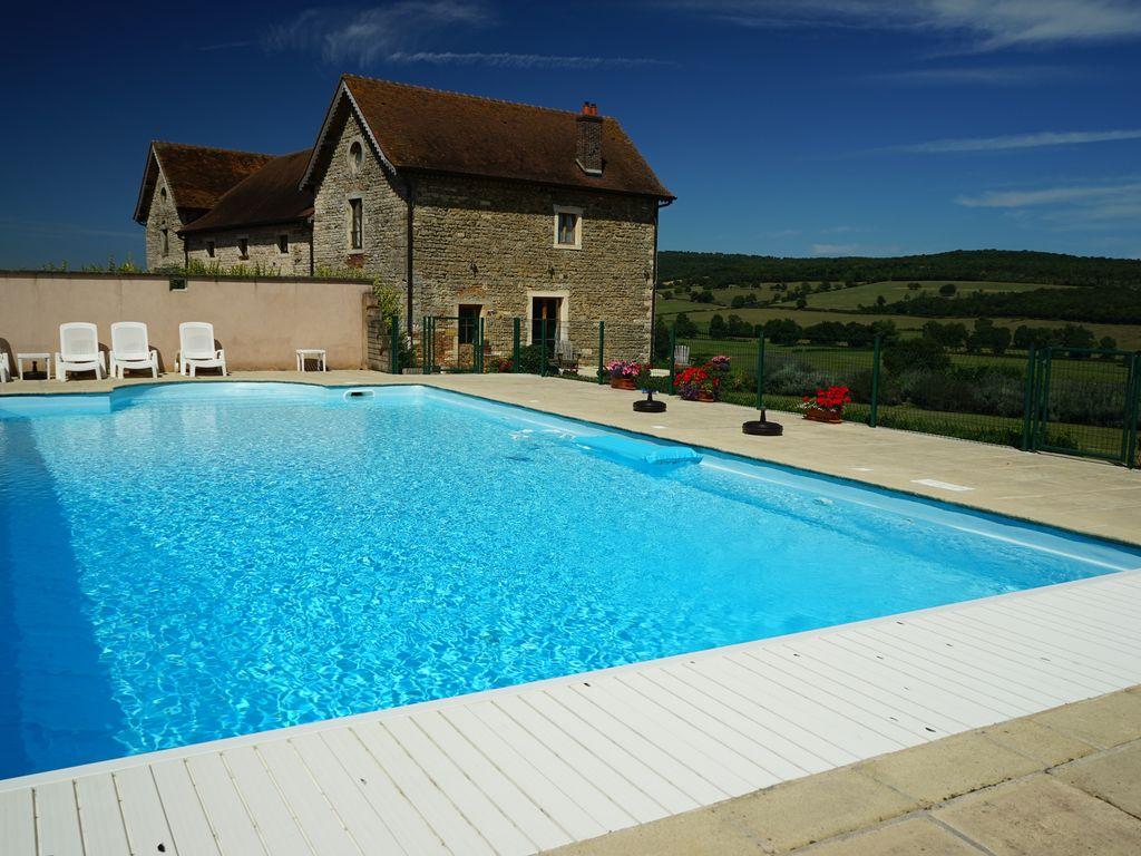 Beautiful Cottage Close To Cluny Taize Macon With 12 Meter Pool Sailly Saone Et Loire