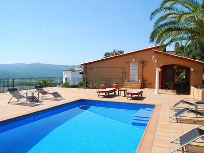 Photo for Beautiful villa with phenomenal view, perfect location in Castell d'Aro