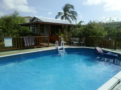 Photo for Pool Side Cottage With Ocean View