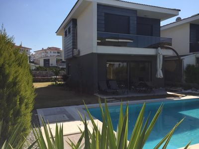 Photo for İzmir/Cesme/Alacati-Lux Dublex Villa,Private Pool.