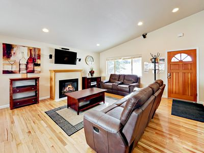 Photo for Spacious 3BR Home near South Lake Tahoe – Sleeps 9!
