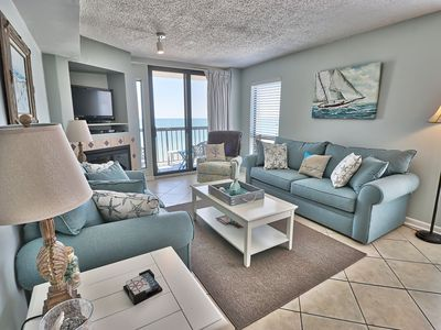 Photo for Waterpointe1 0907 - Windy Hill - Ocean Front - Views - Pools