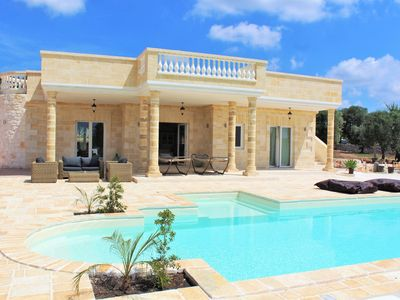 Photo for Villa Merlata, villa in Ostuni with pool Special Offer Season 2019