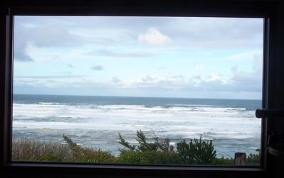 Photo for Bluff Cottage, Exhilarating Panorama Yaquina Head Lighthouse To Otter Crest