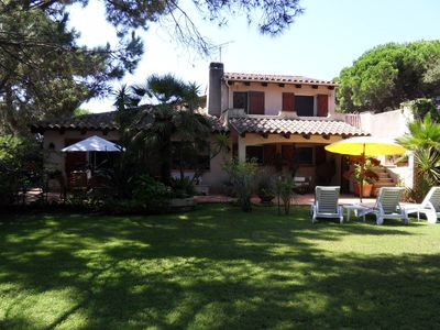 Photo for JULY PROMOTIONS VILLA SEASIDE, TERRACE AND GARDEN IN PINEDE