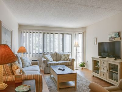 Photo for Beachfront Condo With Pool