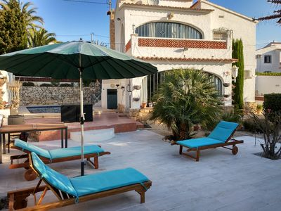 Photo for Nice villa in Calpe,4p,private pool,airco,wifi,sky