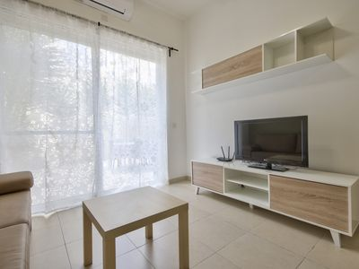 Photo for Off the Strand, Contemporary 2-Bedroom Gzira Apartment