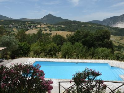 Photo for Villa With Pool, Pizza Oven And Stunning Views