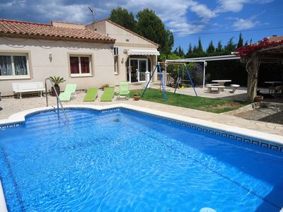 Photo for BEAUTIFUL HOUSE WITH PRIVATE SWIMMING POOL CLOSE TO THE SEA, LAS VERY CALAS - 8/10 pers.