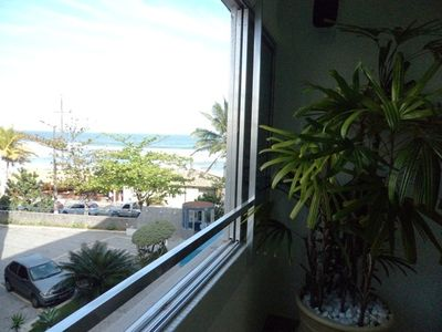 Photo for Duplex apartment Praia do Tombo, foot in the sand