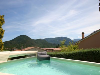 Photo for Villa with private pool and garden - Free Wifi. Walking distance to TOWN