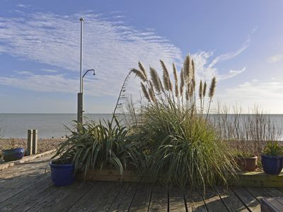 Photo for Tides Cottage - glorious sea views in Pevensey Bay