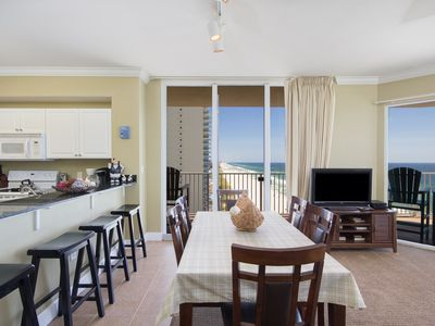 Photo for Welcome to our luxuriously 3 bed/3 bath condo, right on the Gulf of Mexico!