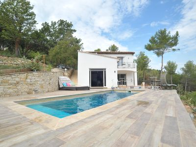 Photo for MAGIC DREAM VIEW Architect designed in Authentic Provence 160M²