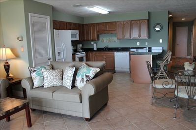 Completely remodeled interior