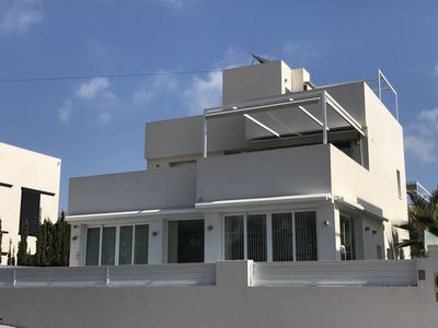 Photo for Detached 4 bedroom luxury villa with pool sleeping 8