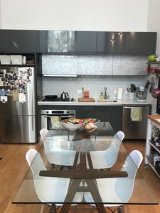 Like to cook? We have a fully stocked kitchen with a dishwasher.