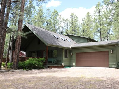 Photo for A slice of heaven in the pines! Modern cabin living in Pinetop, Arizona!
