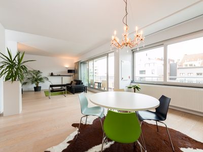 Photo for Modern, spacious 4 person apartment in trendy neighborhood Islet