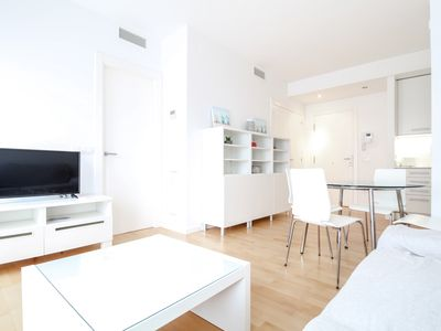 Photo for Modern apartment with air in the center 2 minutes from the beach