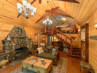 Photo for Charming Crestline Cabin - Completely Renovated!  Sleeps 7, Excellent Location!