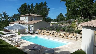Photo for Very Spacious And Stylish Villa With Heated Pool and Air Conditionning