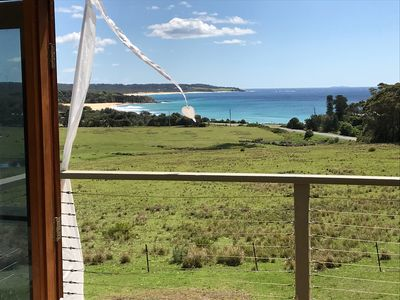 Photo for Infinity Apartment Cuttagee Beach - stunning ocean views - Bermagui locality
