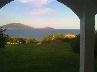 Photo for Nido sul mare with direct access to the sea from the villa's garden.