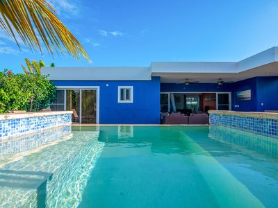 Photo for 4 bedroom house with own Pool