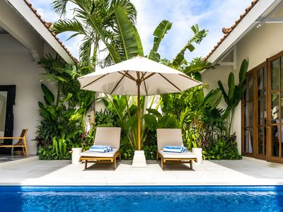 Photo for Luxury villa steps from Seminyak Centre