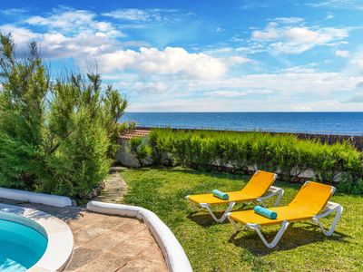 Photo for Villa Voramar - frontline with seaview, private pool and AC, WiFi