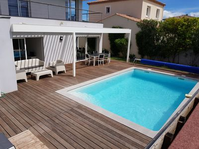 Photo for 4BR Villa Vacation Rental in Balaruc-le-Vieux, Occitanie
